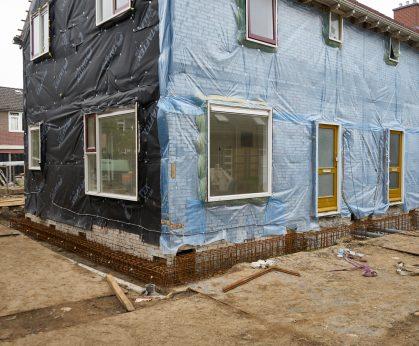 Verwijderen buitengevels en daken
